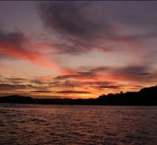 sunset over pautaua