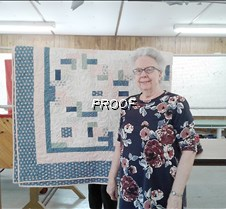 Waterama quilt winner