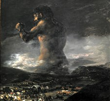 331The Colossus-Follower of Goya-1818-25