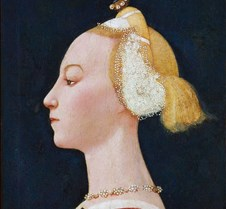 467Portrait of a Lady-Paolo Uccello-1450