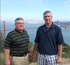 Dan and Me at Golden Gate
