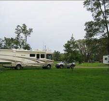 Lake Erie SP Campsite