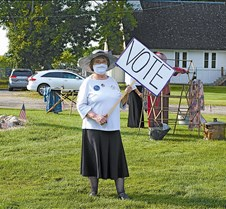 Vote, voting rights parade