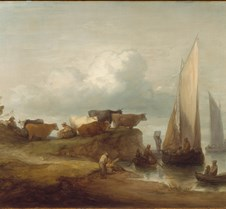 A Coastal Landscape - Thomas Gainsboroug