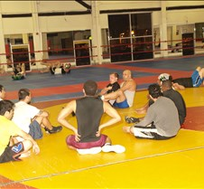 Am Sp Uni 2 23 09 by James American Sports University, San Bernardino, CA.  Monday Night Grappling Class.  Photographs of students perfecting their techniques.  Photographs by James