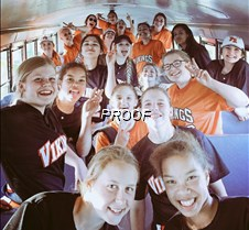 softball aboard bus