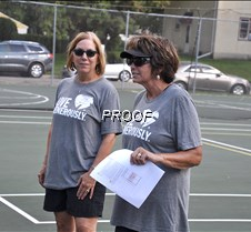 Pickle ball organizers