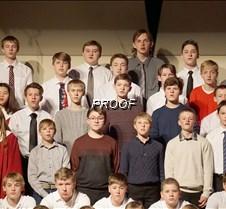 Varsity choir