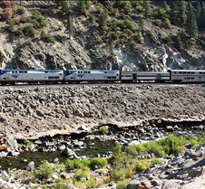 California Zephyr Amtrak #6 Eastbound