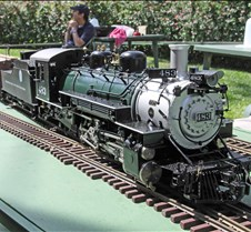 Lee Barrett's Live Steam K-36 Mikado