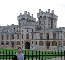 Jane within Windsor Castle