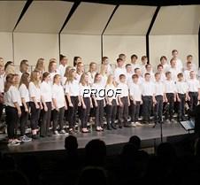 Seventh grade choir