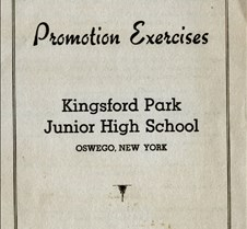 kingsford park graduation 1957 outside