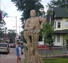 Tree carving Truro, NS
