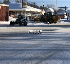 snow removal- CITY