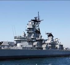USS Iowa Battleship BB61 In Open Water