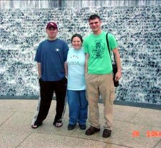 Adam, Patty & Eric at the Waterwall