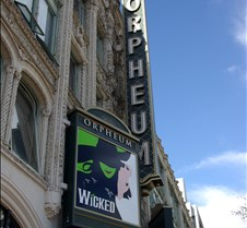 Wicked at The Orpheum Theater