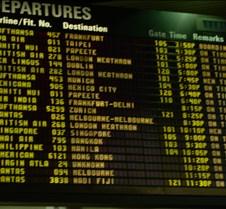 TBIT Departure Board