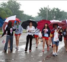 Dance Squad w umbrellas
