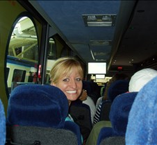 amy on bus