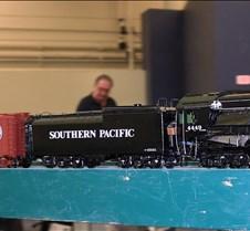 SP Black Daylight Live Steam Locomotive