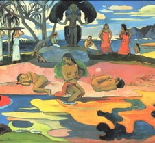 Mahana no Atua-1894-Paul Gauguin-Art Ins