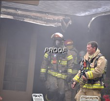 fire-emerging from house