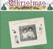 Cindy and Karen Christmas  1969