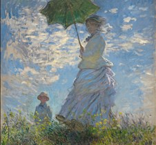 Woman with a Parasol - Claude Monet - 18