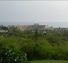 Sheraton Hotel from Golf Course