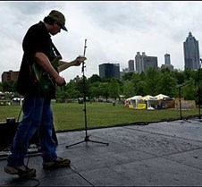 pic2 of guitar tech during sound check