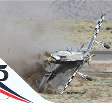 Thunder Mustang #75 Air Race Crash 459a