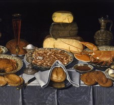 386Still Life with Lobster-Clara Peeters