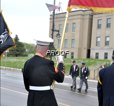 returning from placing wreath
