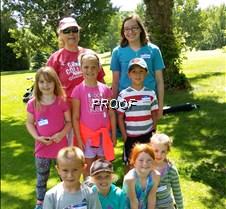 Kids Golf Camp Jodi & Madison 2017