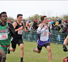 XC David Johnston (2nd from Left)