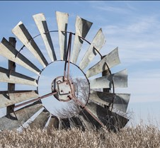 """Windmills! I love the vintage windmills that still dot the countryside, most of which are not in use anymore.  The """"prairie flowers"""" that stand tall and proud are becoming fewer and fewer as time goes on!  I will continue to capture them as long as I am able."""