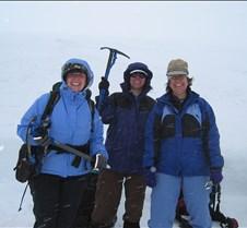 Mt.Hood Palmer Hike 053108 Monica, Rae, Tanya, Rhonda