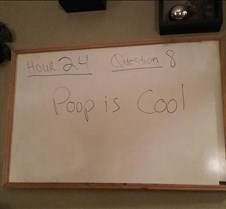 Poop is Cool - answer