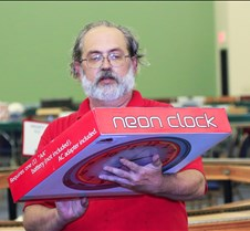 Dave Hottman Wins Door Prize at NSS-2013