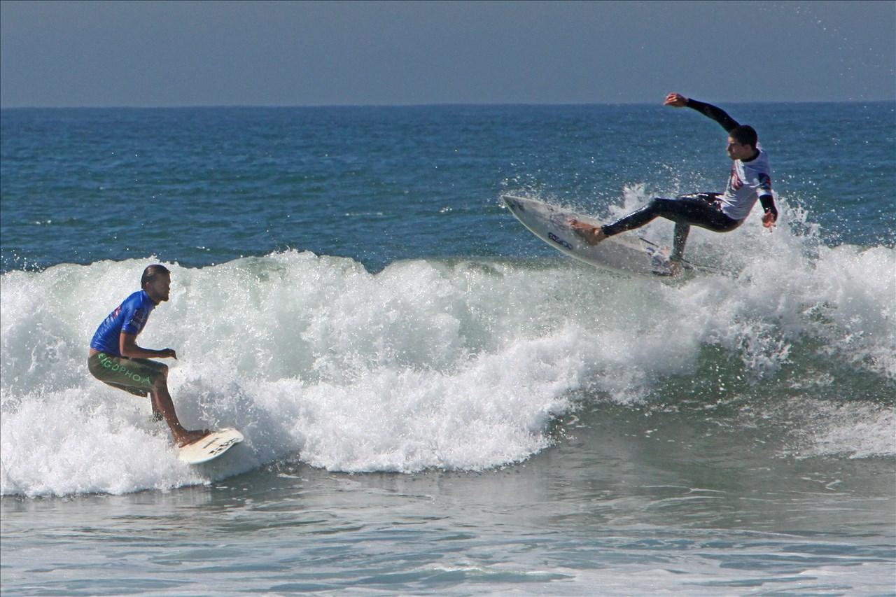 Amateur surfing photos