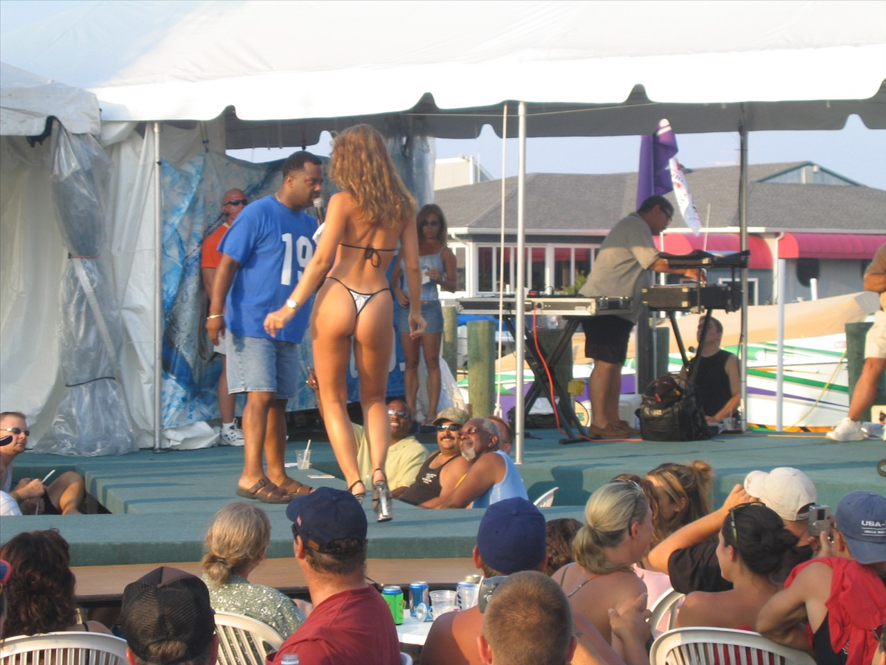 Red Eye Dock Bar Bikini Contest